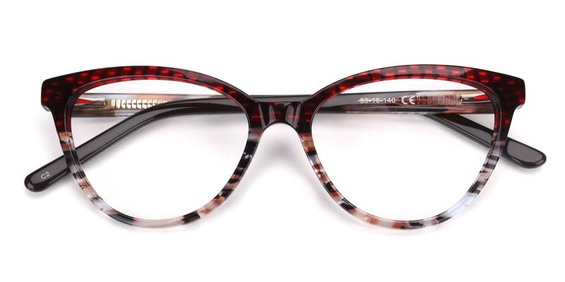 Daphnely-Red-Eyeglasses
