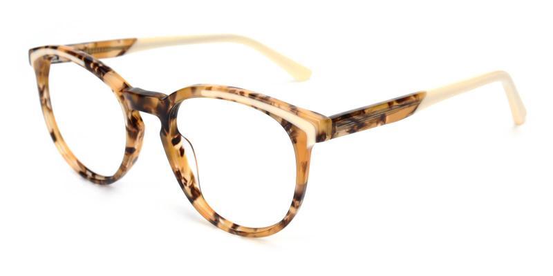 Deborah-Yellow-Eyeglasses