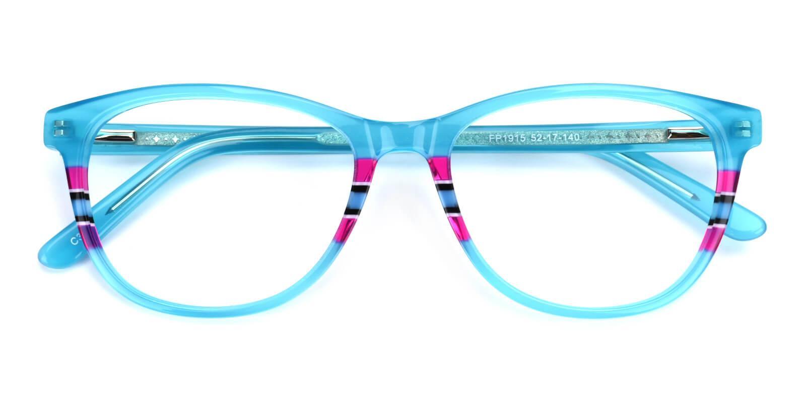 Faithely-Blue-Square-Acetate-Eyeglasses-detail