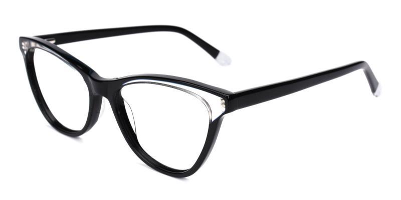 Florencer-Black-Eyeglasses