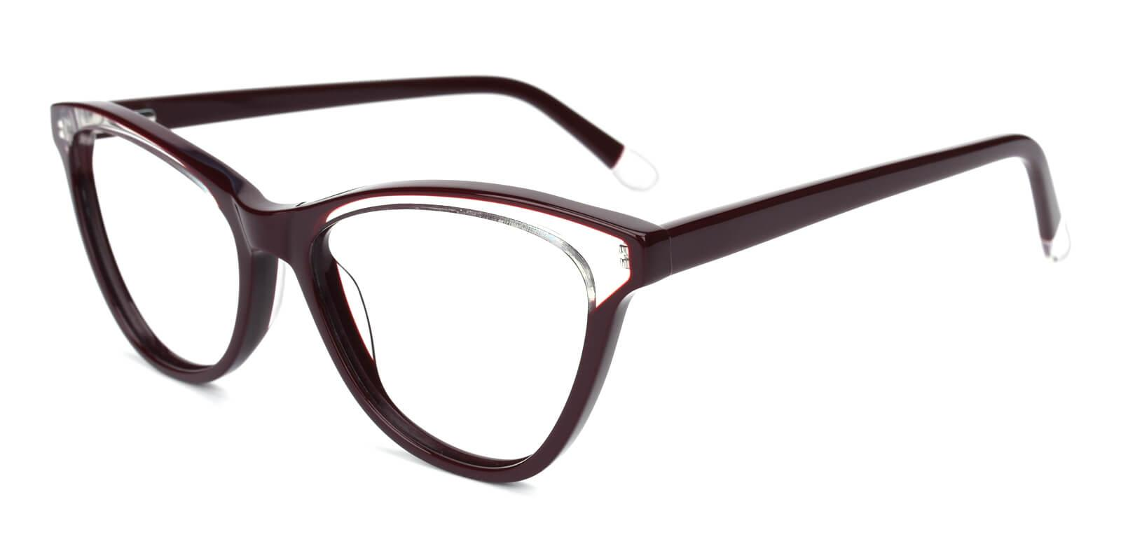 Florencer-Brown-Oval / Cat-Acetate-Eyeglasses-additional1
