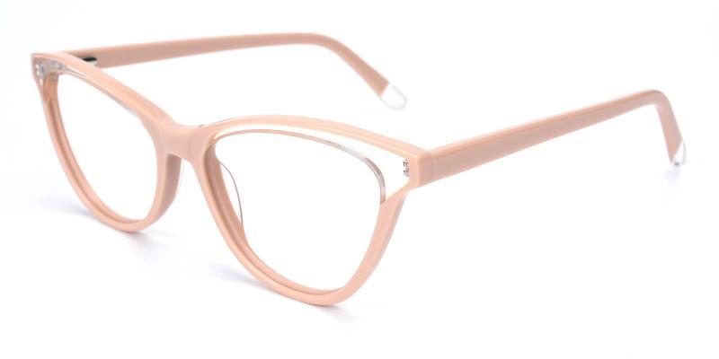Florencer-Pink-Eyeglasses / Fashion / Lightweight / SpringHinges / UniversalBridgeFit