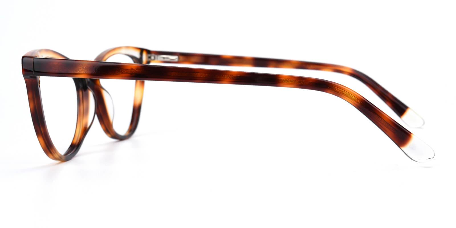 Florencer-Tortoise-Oval / Cat-Acetate-Eyeglasses-detail