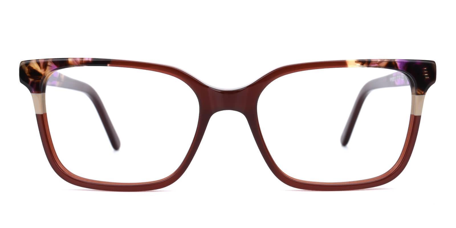 Geraldine-Brown-Square / Cat-Acetate-Eyeglasses-additional2
