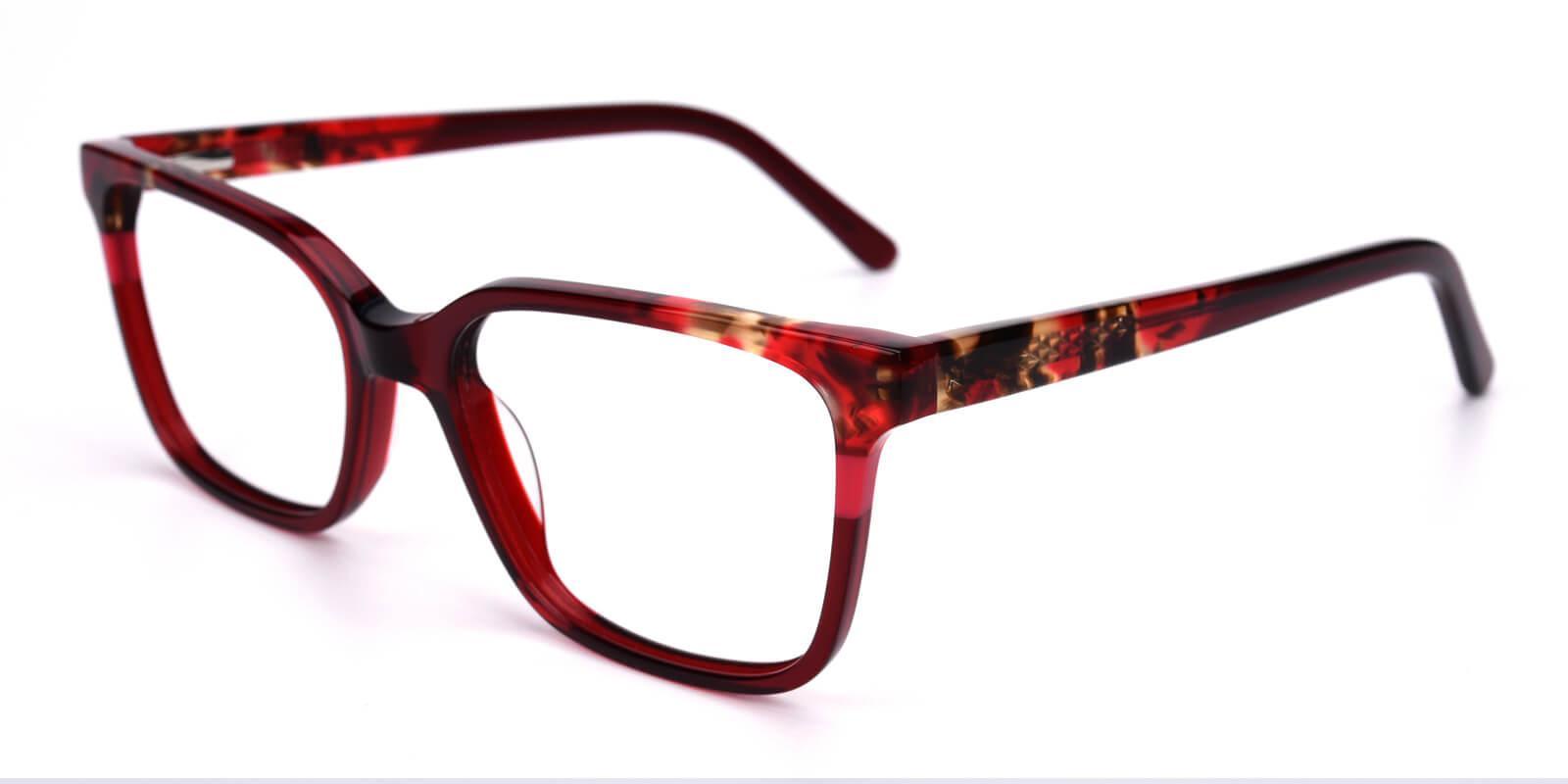 Geraldine-Red-Square / Cat-Acetate-Eyeglasses-additional1