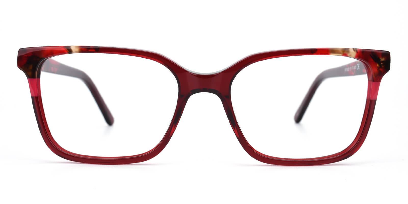 Geraldine-Red-Square / Cat-Acetate-Eyeglasses-additional2