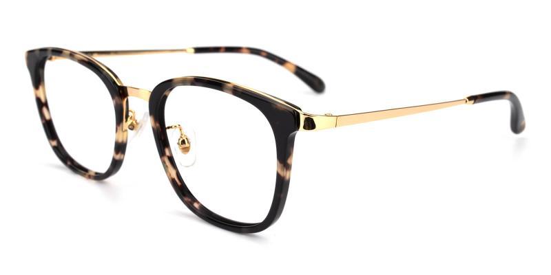 Keronito-Leopard-Eyeglasses / Fashion / NosePads / SpringHinges / UniversalBridgeFit