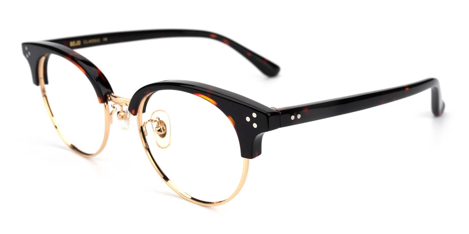 Jinjiay-Tortoise-Oval-Metal-Eyeglasses-additional1