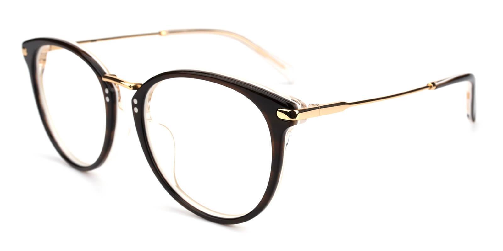 Valkder-Brown-Round-Metal-Eyeglasses-additional1