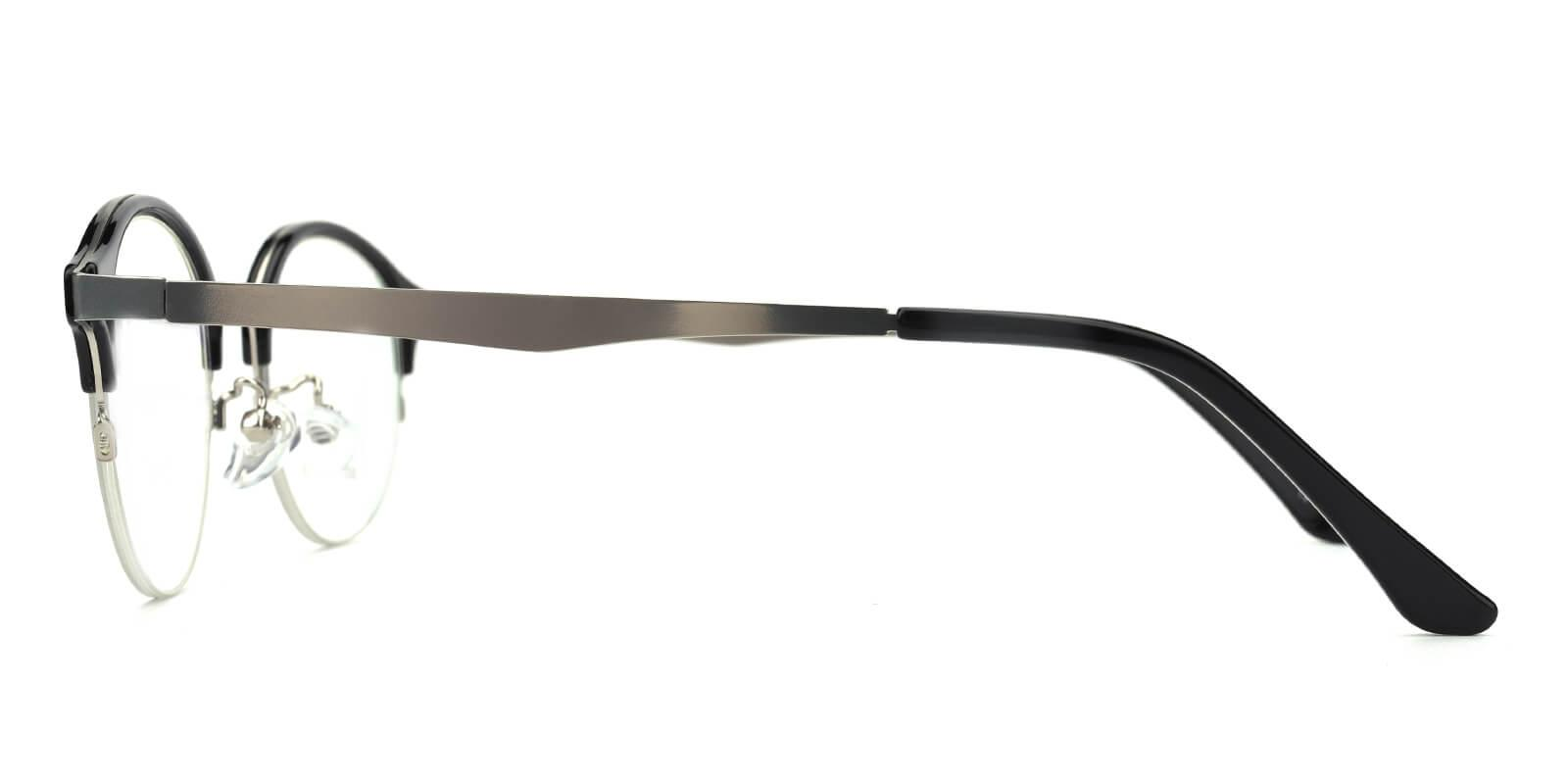 Akaaro-Black-Oval-Metal-Eyeglasses-additional3