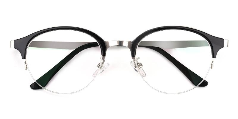 Akaaro-Black-Eyeglasses