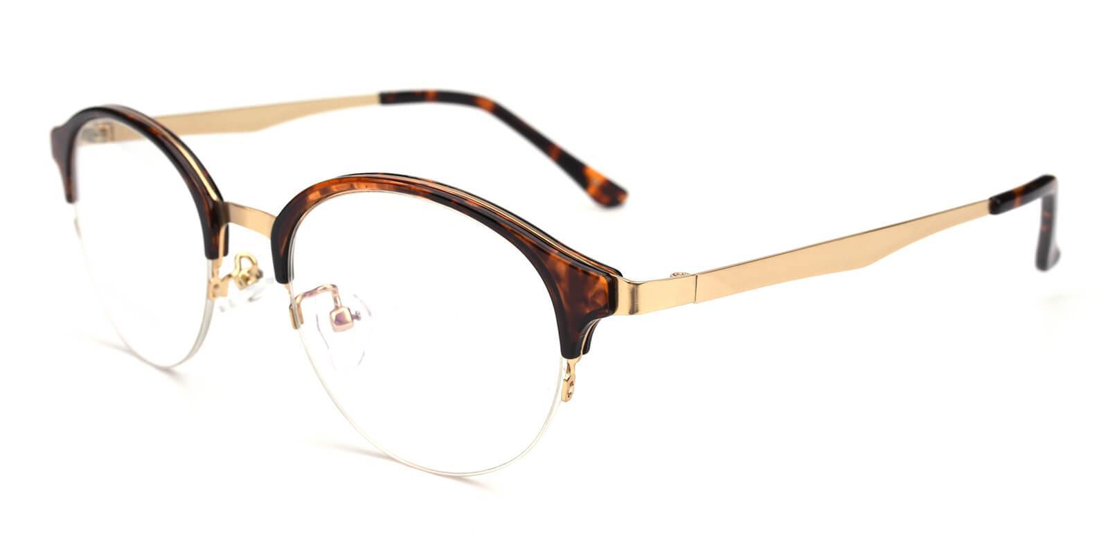 Akaaro-Tortoise-Oval-Metal-Eyeglasses-additional1