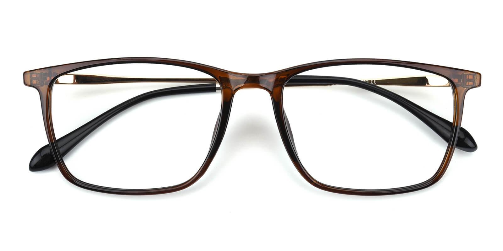 Erisony-Brown-Rectangle-TR-Eyeglasses-detail