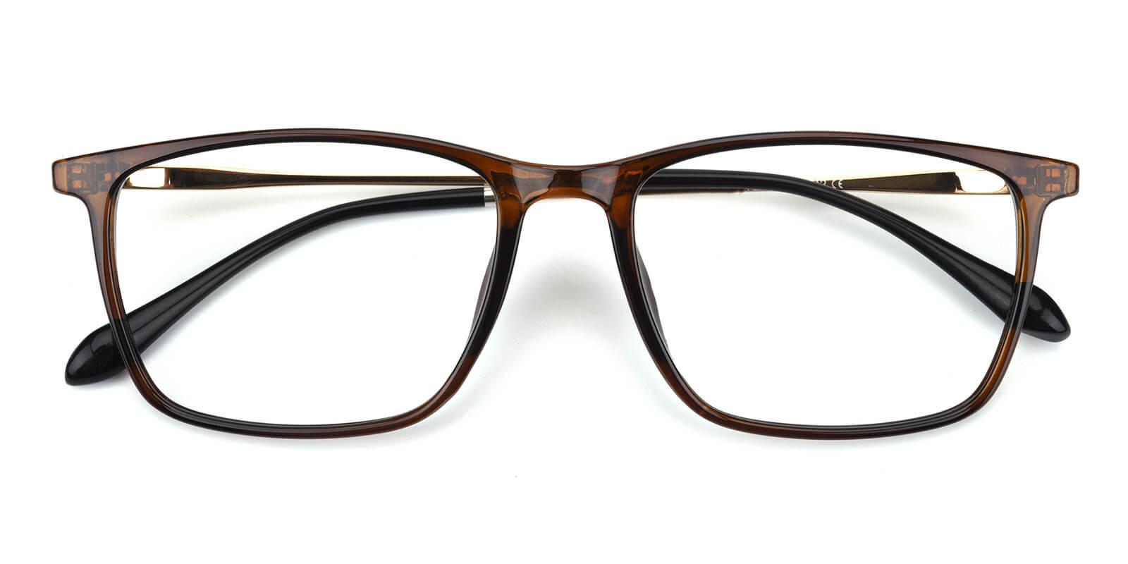 Erisony-Brown-Rectangle-TR-Eyeglasses-detail