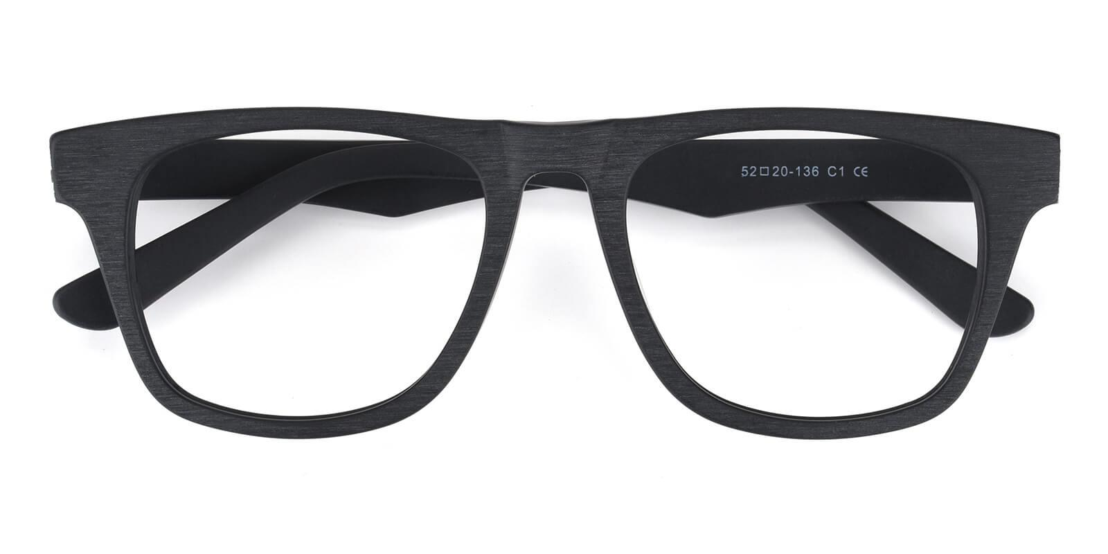 Nashive-Black-Rectangle-Acetate-Eyeglasses-detail