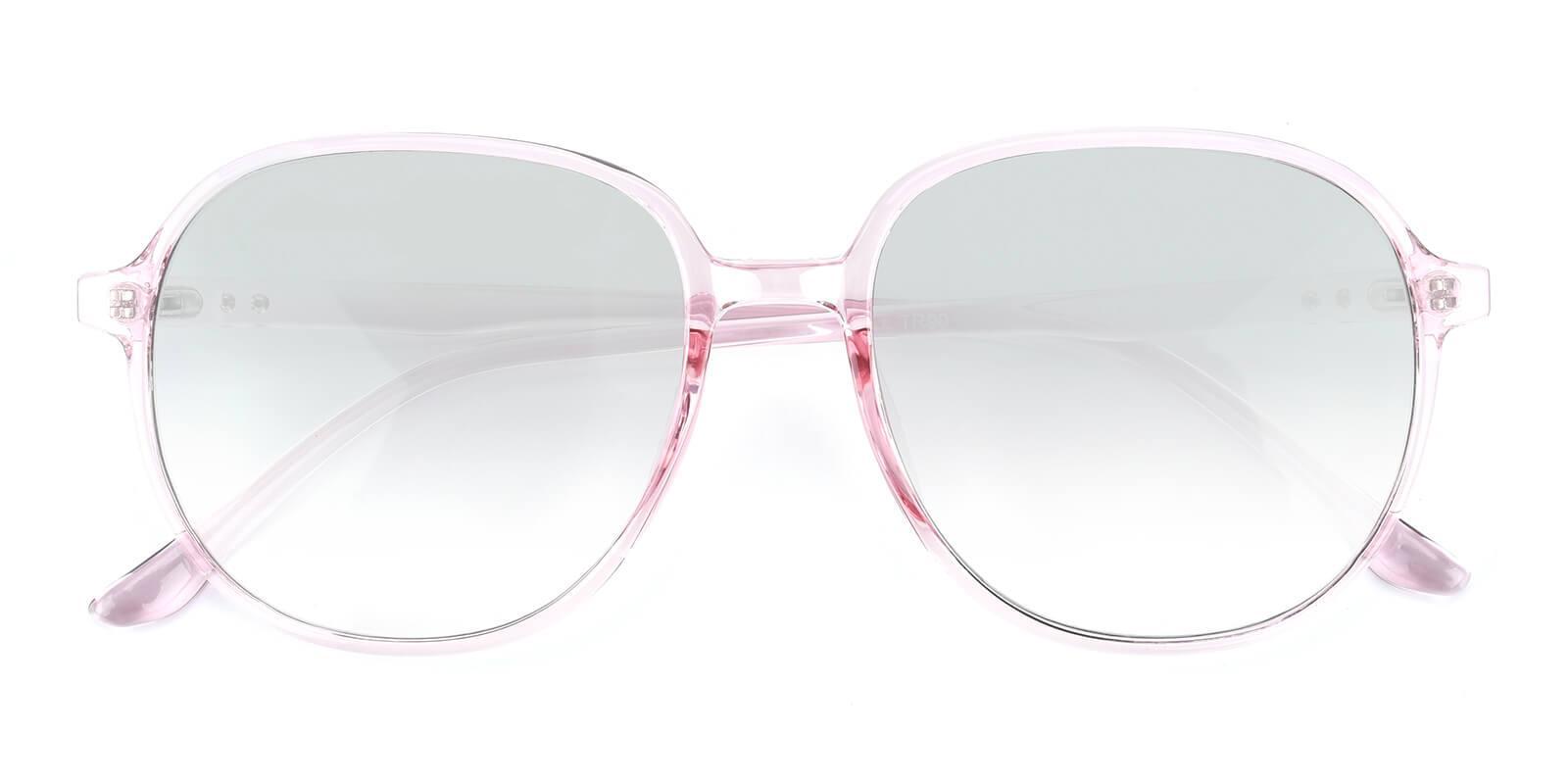 Alinena-Pink-Round-TR-Sunglasses-detail