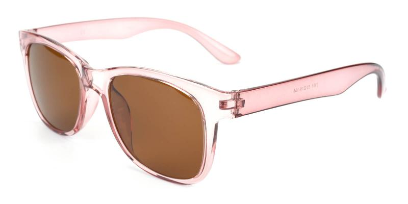 Tracly-Pink-Sunglasses