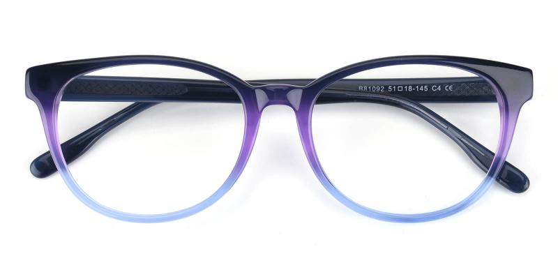 Zona-Blue-Eyeglasses