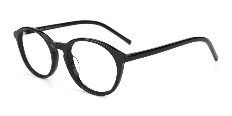Herbel-Black-Eyeglasses