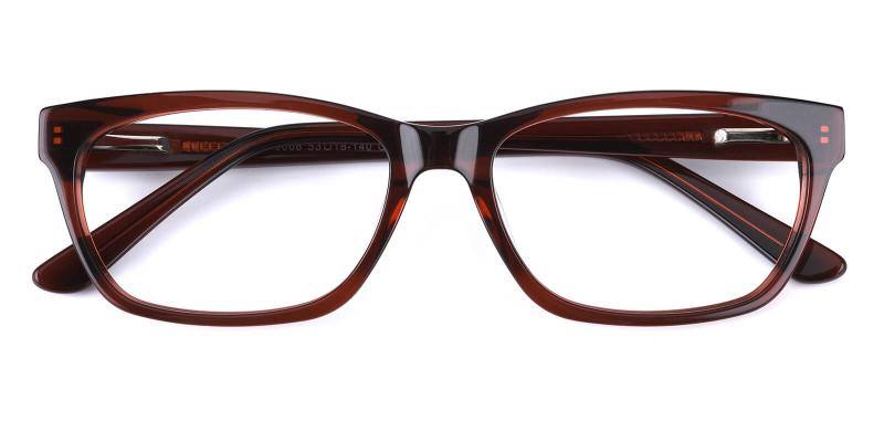 Mizura-Brown-Eyeglasses
