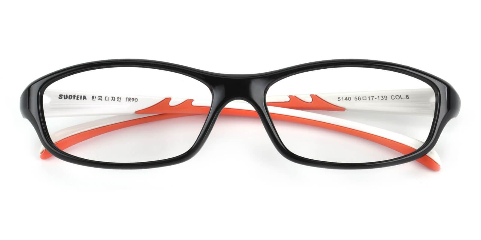 Hank-Black-Rectangle-TR-Eyeglasses-detail