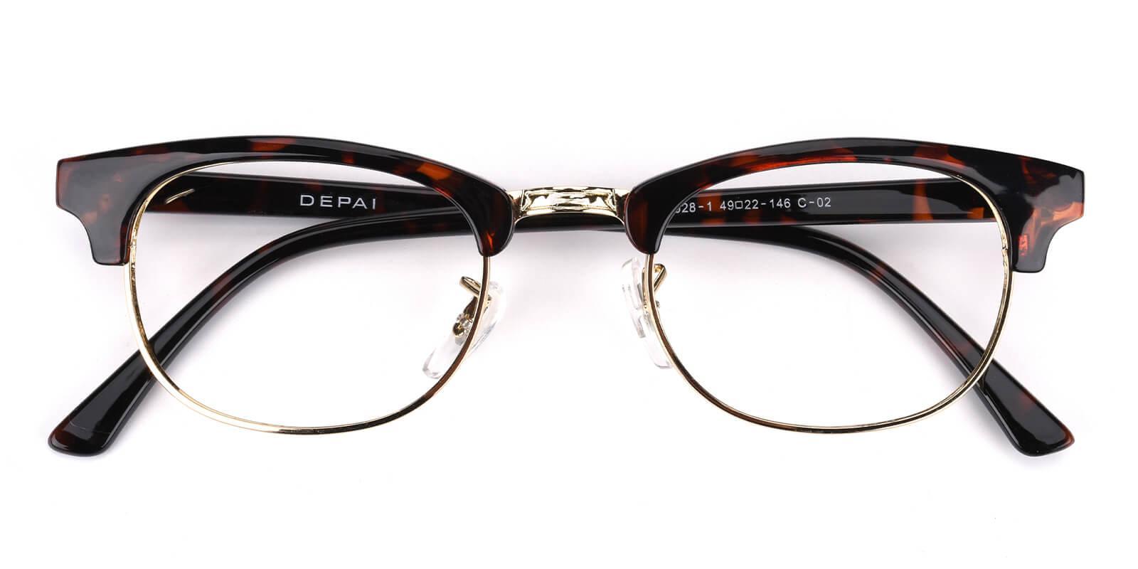 Sercily-Tortoise-Square-TR-Eyeglasses-detail