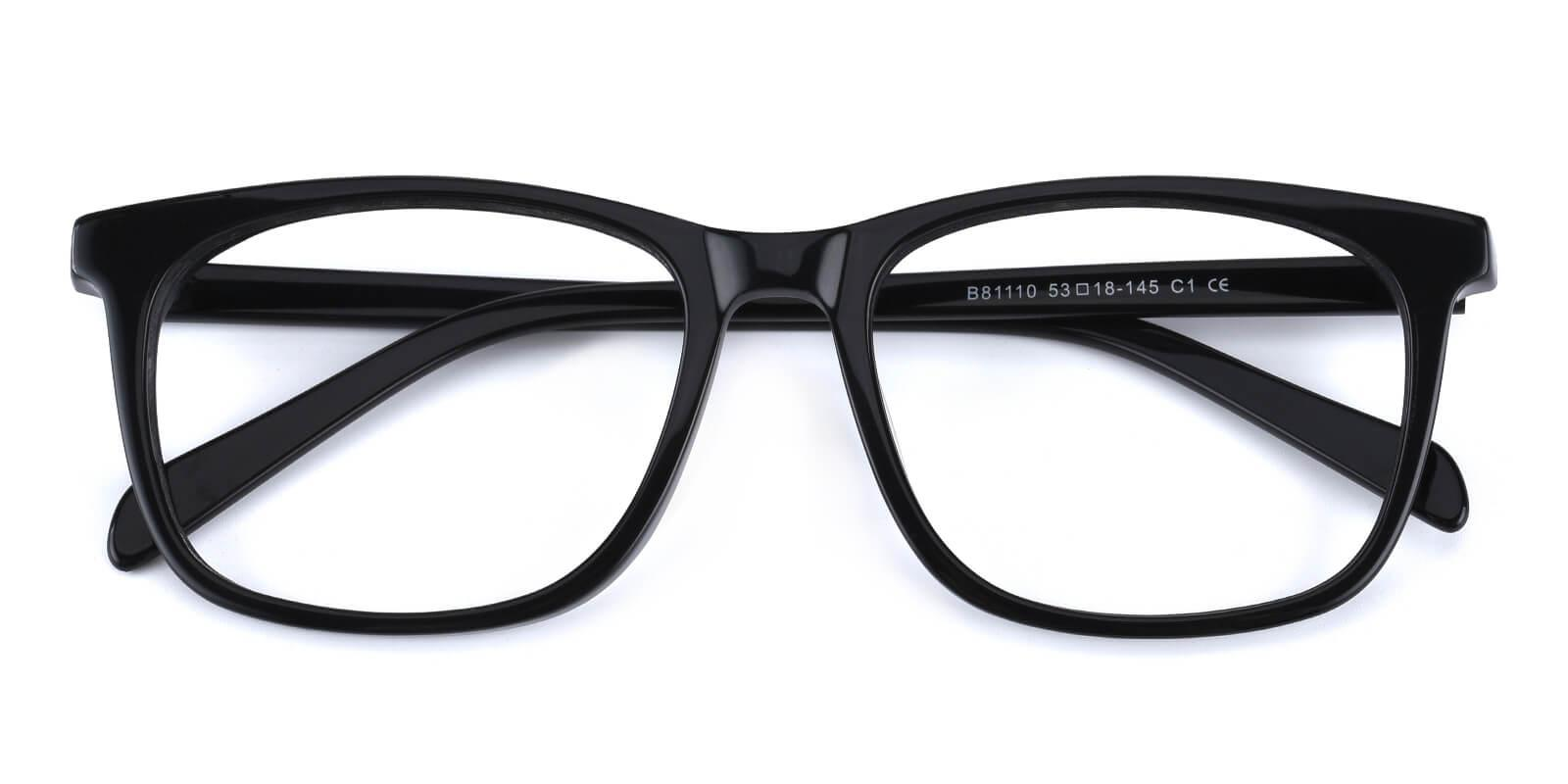 Bugger-Black-Square-Acetate-Eyeglasses-detail