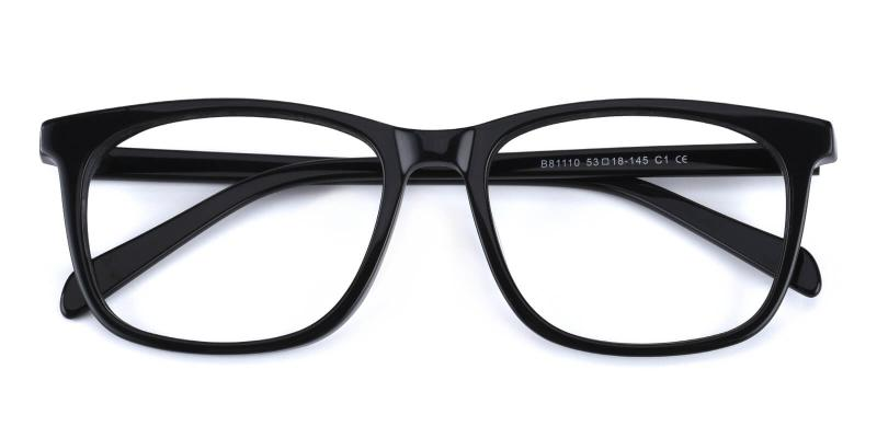Bugger-Black-Eyeglasses