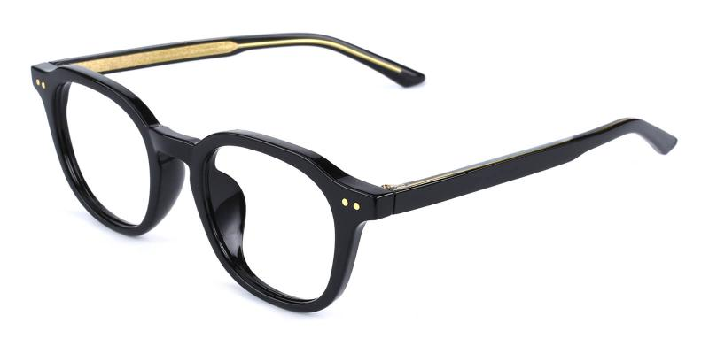Dapper-Black-Eyeglasses