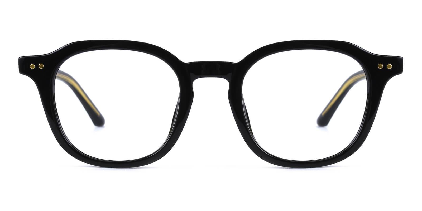 Dapper-Black-Round-Acetate-Eyeglasses-detail