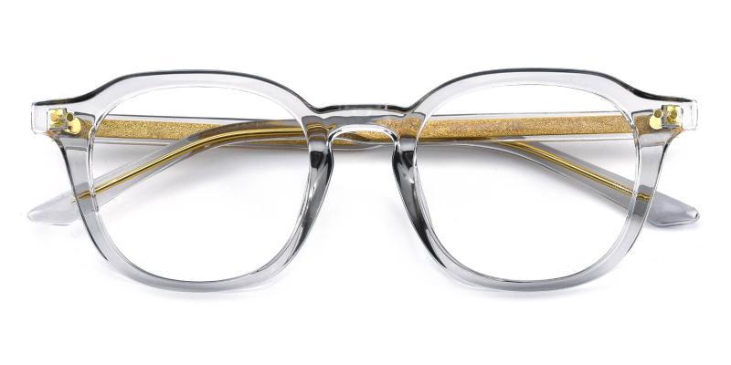 Dapper-Gray-Eyeglasses / Fashion / SpringHinges / UniversalBridgeFit
