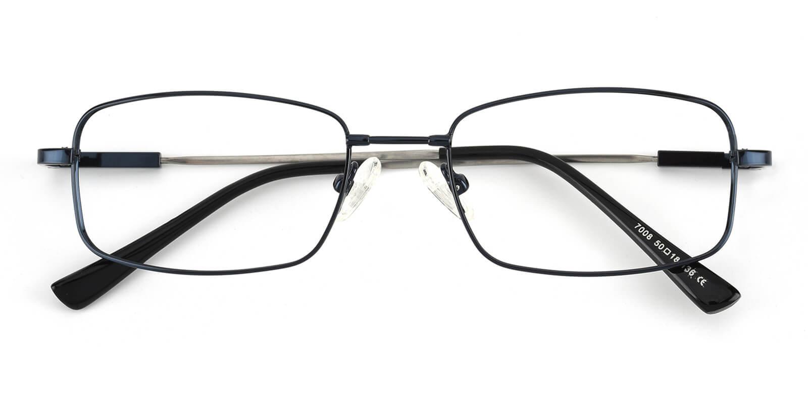 Dialogue-Black-Rectangle-Titanium-Eyeglasses-detail