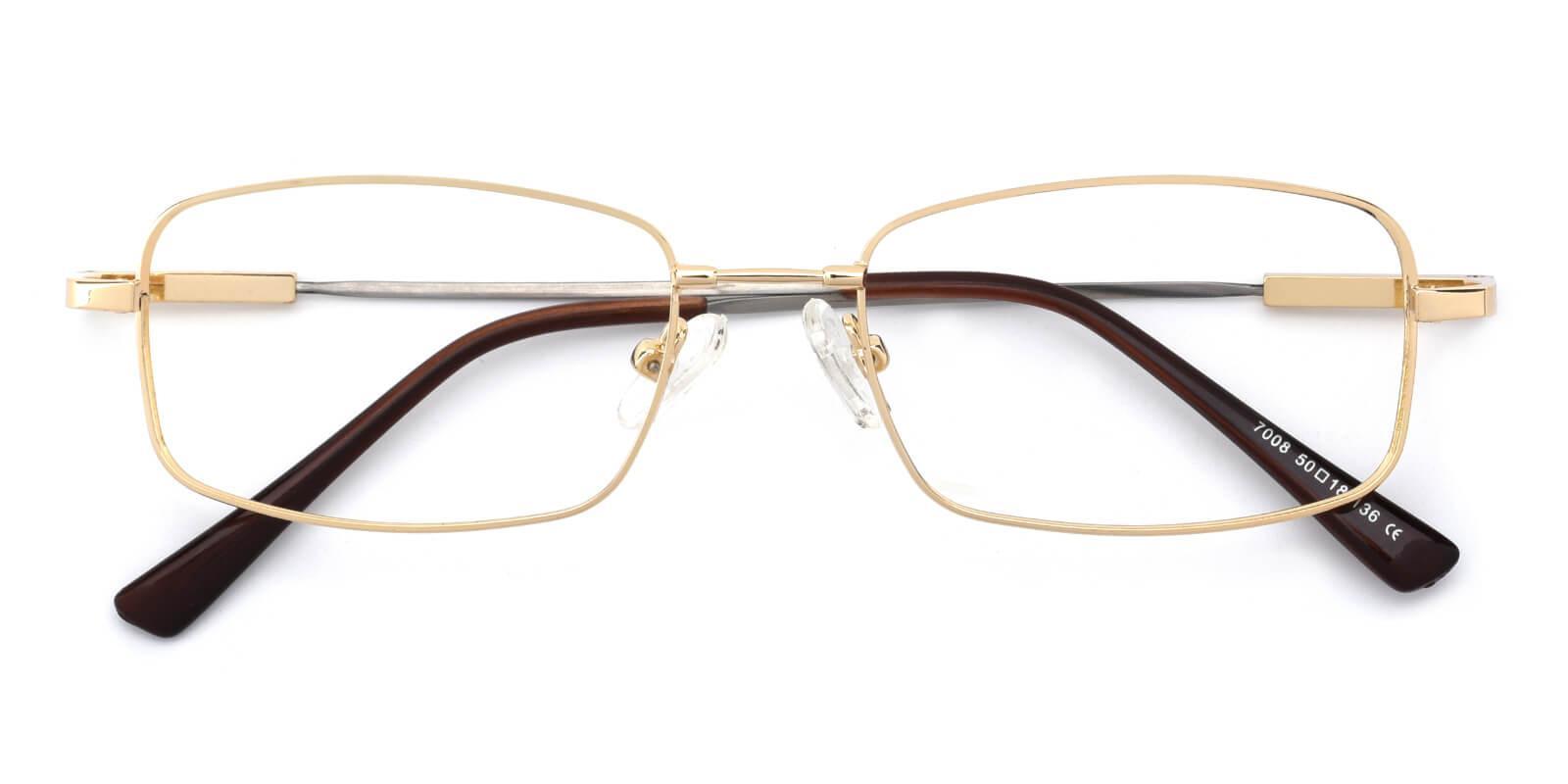 Dialogue-Gold-Rectangle-Titanium-Eyeglasses-detail