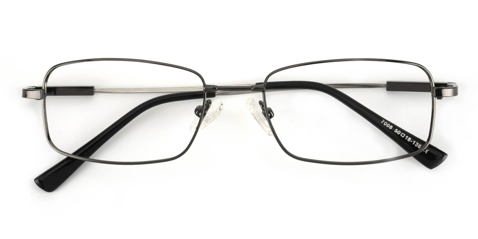 Dialogue-Gun-Rectangle-Titanium-Eyeglasses-detail