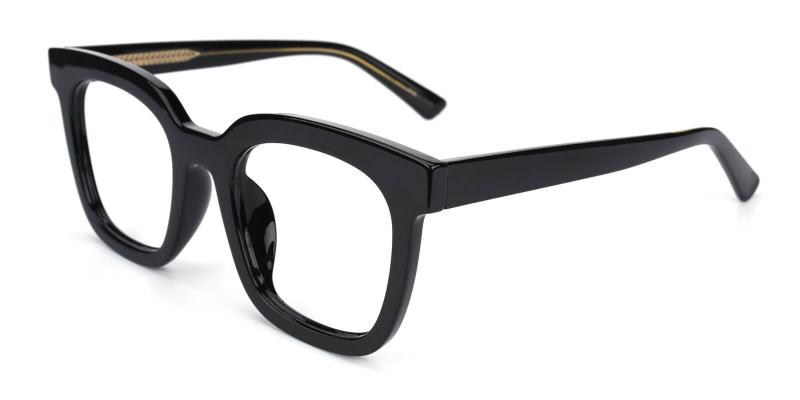 Vienna -Black-Eyeglasses / Fashion / SpringHinges / UniversalBridgeFit
