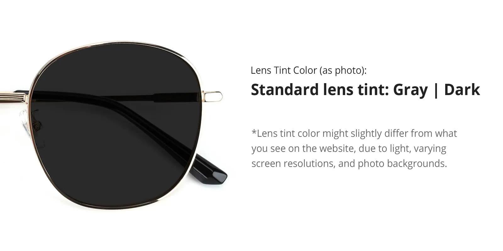 Tinkerbell-Black-Cat / Round-Metal-Sunglasses-detail