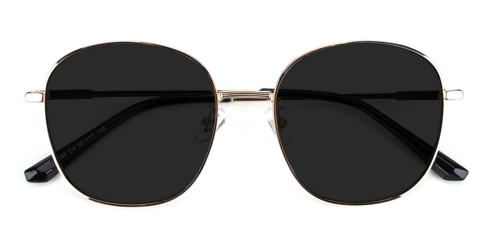 Tinkerbell-Black-Round / Cat-Metal-Sunglasses-detail