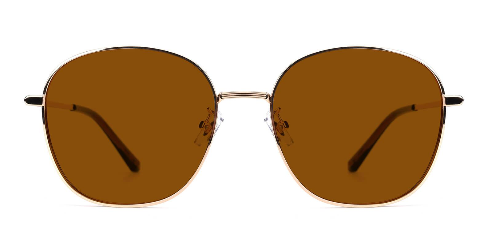 Tinkerbell-Brown-Round / Cat-Metal-Sunglasses-detail