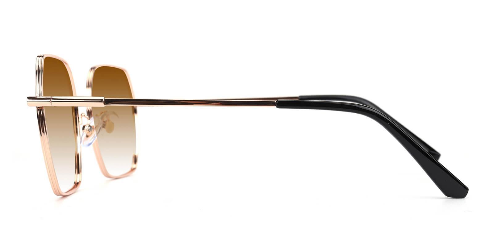 Quinny-Gold-Square-Metal-Sunglasses-detail