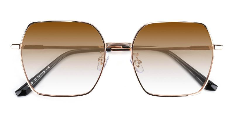 Quinny-Gold-Sunglasses