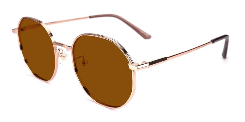 Sergi-Gold-Fashion / SpringHinges / Sunglasses / UniversalBridgeFit