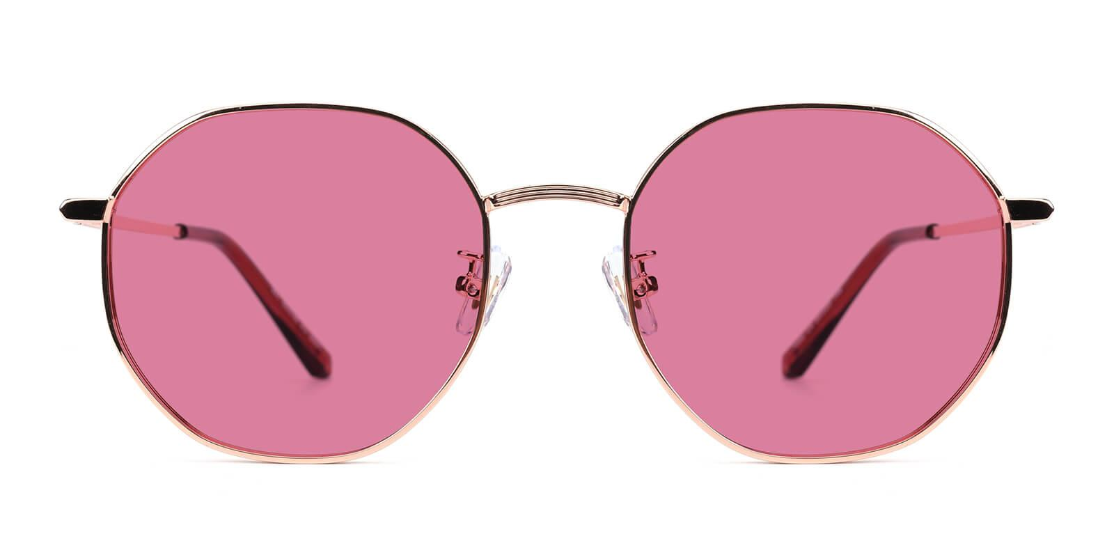 Sergi-Pink-Geometric-Metal-Sunglasses-additional2