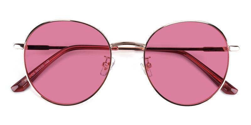 Krueger-Gold-Fashion / SpringHinges / Sunglasses / UniversalBridgeFit