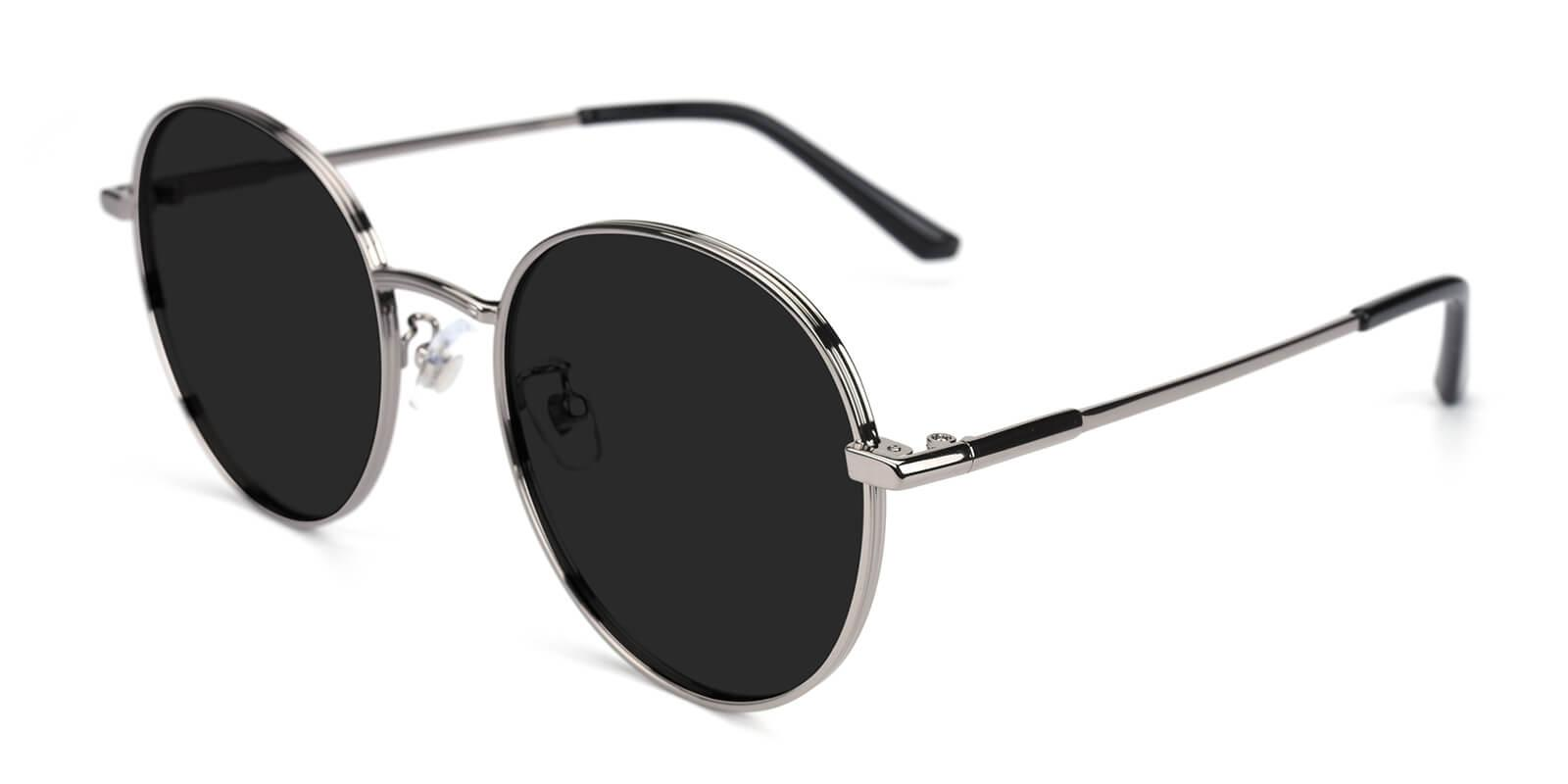 Krueger-Gun-Round-Metal-Sunglasses-detail