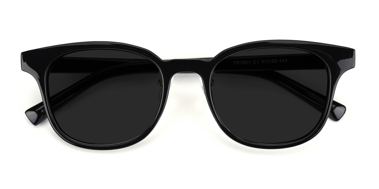 Soyok-Black-Square / Cat-TR-Sunglasses-detail