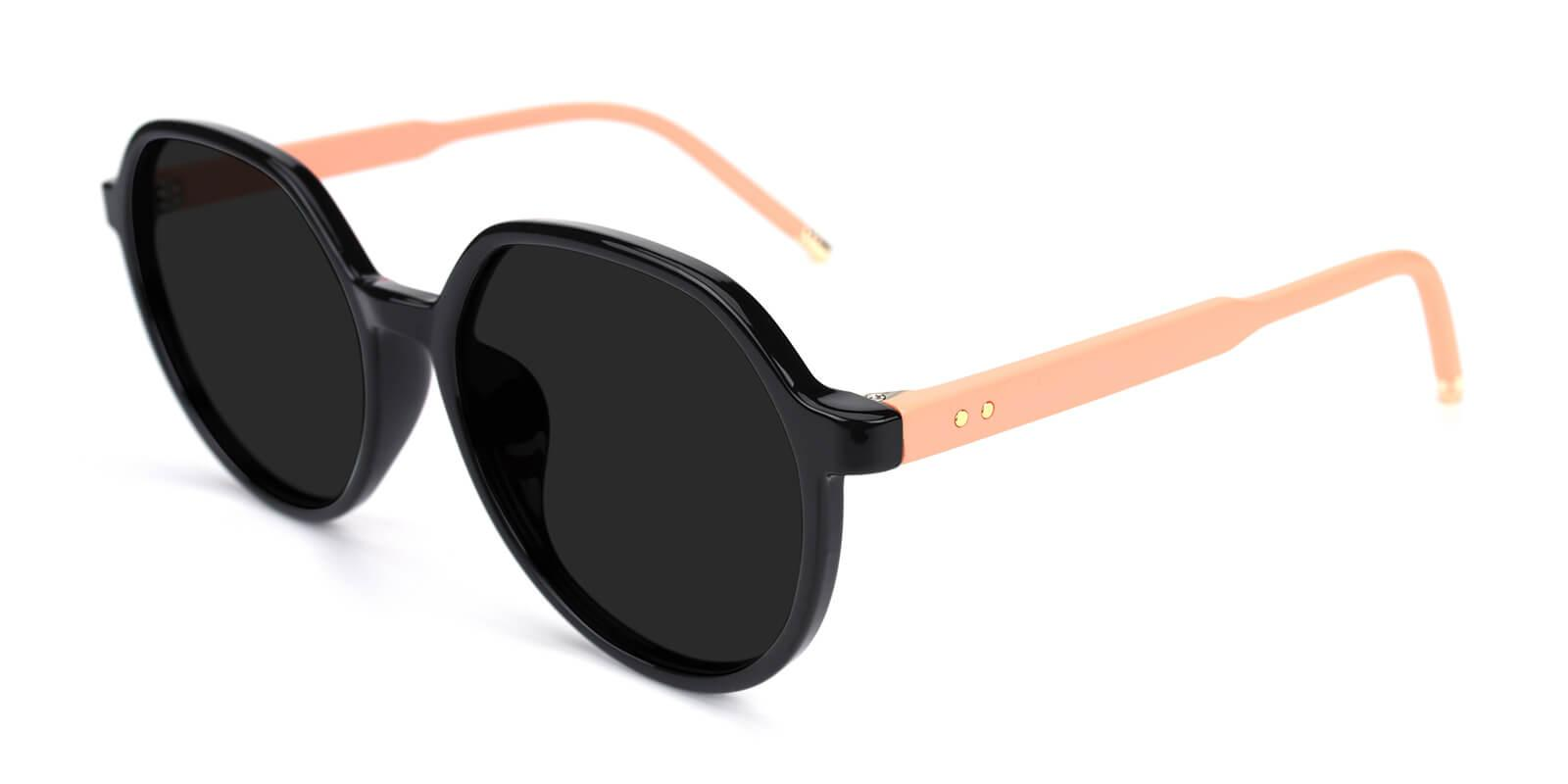 Songi-Black-Round-TR-Sunglasses-additional1