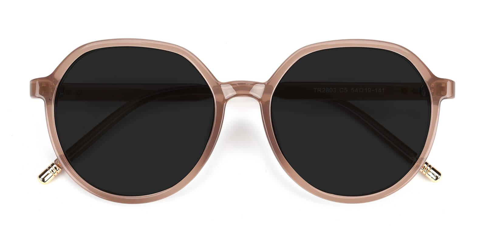 Songi-Pink-Round-TR-Sunglasses-detail