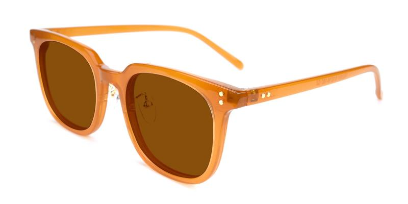 Laya-Brown-Fashion / SpringHinges / Sunglasses / UniversalBridgeFit