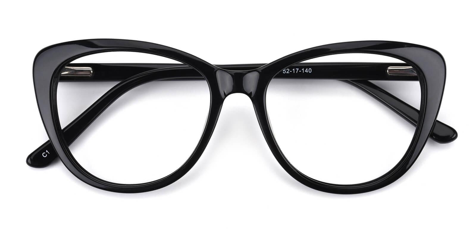 Secretly-Black-Cat-Acetate-Eyeglasses-detail