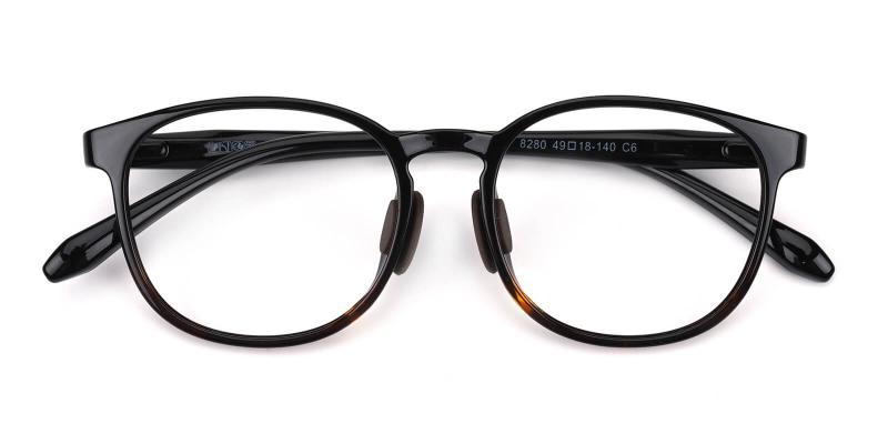 Malon-Black-Eyeglasses